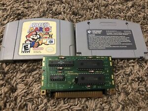 Paper Mario Nintendo 64 N64 Authentic Genuine