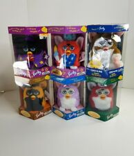 Vtg Tiger Electronics 1998/1999 6-Lot Furby Limited Editions Variety Figures NIB