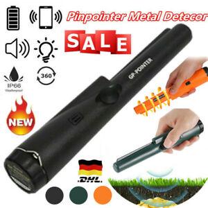 Schatzsuche Pinpointer Metall Detektor Metallsuchgerät mit LED Taschenlampe