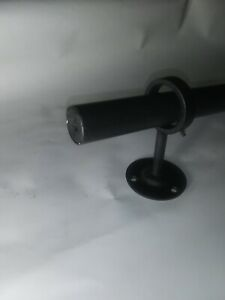 "POTTERY BARN Curtain Drapery Rod 1.25"" Cast Iron Single X Large 96""- 120"""