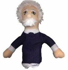 Albert Einstein Finger Puppet  Magnetic  Unemployed Philosophers Plush