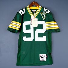 100% Authentic Reggie White Mitchell Ness 93 Packers NFL Jersey Mens Size 48 XL
