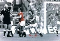Signed Kevin Moran Manchester United FA Cup 1985 Sending Off Autograph Photo