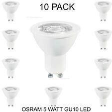 OSRAM 5 Watt Gu10 LED Light Bulb Lamp Cool White 4000k a Energy Rated - 2 Pack