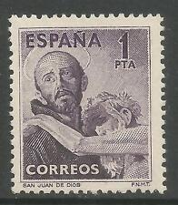 Mint Hinged Single Spanish & Colonies Stamps