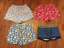 Men's Size Medium Gap American Eagle Boxers Boxer Briefs Lot All Very Good