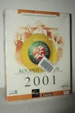 ROLAND GARROS FRENCH OPEN 2001 NUOVO PC CDROM ED ITALIANA BIG BOX ML3 54601