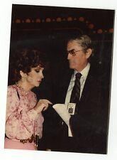 Gina Lollobrigida & Gregory Peck  - Vintage Candid by Peter Warrack Unpublished