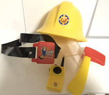 fireman sam Helmet With Sounds , Plays Theme Tune & Phrases - Toy Accessories
