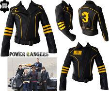 femmes POWER RANGER Style femmes Ce PROTECTION MOTO / veste cuir moto