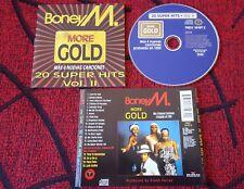 BONEY M **More Gold - 20 Hits (Mas 4 Nuevas Canciones)** ORIGINAL 1993 Spain CD