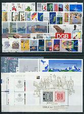 Bund Jahrgang 1999 postfrisch komplett mit allen Blöcken BRD 2027 - 2086 MNH