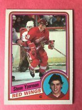 1984-85 O PEE CHEE OPC  ROOKIE CARD #67 STEVE YZERMAN