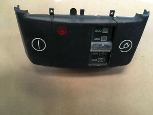 Miele S421i S424 vacuum cleaner Control Switch Panel Assembly part number 392835