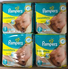 Pampers Swaddlers Tab Closure Disposable Size 1 Baby Diaper Pack of 240