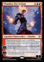 1x CHANDRA, FIRE ARTISAN - War of the Spark - MTG - NM - Magic the Gathering