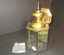 "Troy Lighting Solid Brass Outdoor Lantern 7"" across/ 14"" high B4831"