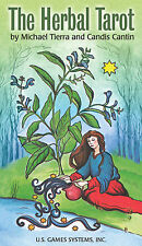 Herbal Tarot Deck NEW IN BOX Holistic Healing Oracle Cards New US Games Edition
