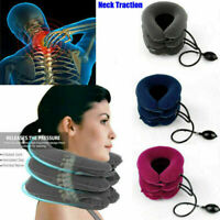 Inflatable Air Massager Neck Brace Support Therapy Enhancement Correct 3-layers