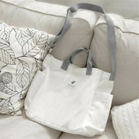 Women's Casual Shoulder Canvas Bag Travel Shopping Tote Crossbody Bags G