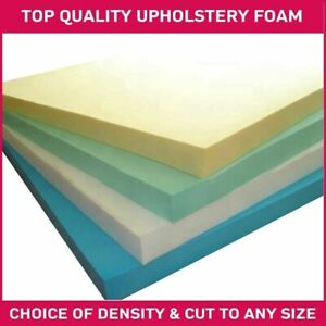 """Upholstery Foam 70 x 20 x 3"""" Sheets Cut To Any Size Caravans Cushions Crafts"""