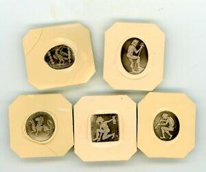Roman Style Intaglio Signet Seals