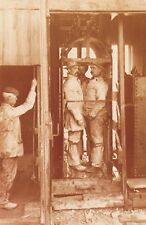 Cornwall Nostalgia Postcard 1900 Cornish Tin Miners, Mining, Repro Card NS14