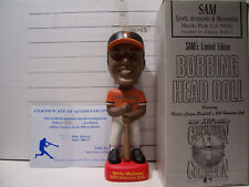 1998 SAM 500 HOME RUN WILLIE MCCOVEY BOBBLEHEAD S.F. GIANTS #875/1000 MINT RARE