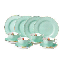 Royal Albert Polka Rose 12 Piece Set - Green - RRP $599.00