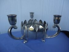 vintage viners silver england rose bowl vase candle holder candelabra 3 avaiable