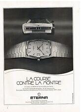 Publicité Advertising 1984 La Montre Eterna Royal Quartz
