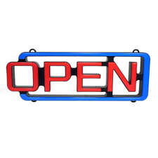 """Cm Global MystiGlo Led """"Open"""" Sign with Remote Open Business Sign"""