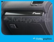 VW GOLF RACINGLINE INTERIOR DASH TRIM STICKER, DECAL, GRAPHIC x1 IN CHROME VINYL