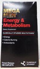 GNC Mega Men Energy + Metabolism Energy Antioxidant Supplement - 180 Caplets