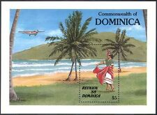 Dominica 1988 Tourism/Plane/Dancer/Dance/Palm Trees/Transport 1v m/s (n41803)