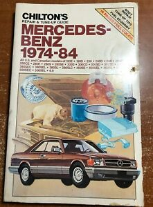 Chilton's Mercedes-Benz 1974-84 Part No. 6809 Repair and Tune-up Guide
