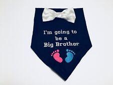 Pregnancy Dog Reveal, Big brother, Dog Bandanas