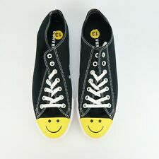 Converse Chuck Taylor All Star Low Smiley Face Sneakers Shoes Size 13  NEW NWOB