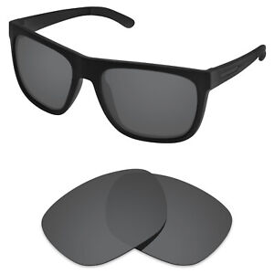 Polarized Replacement Lenses for-Arnette Fire Drill AN4143 Carbon Black (STD)