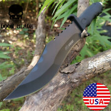 Tanto Tactical Bowie Survival Hunting Knife Military Dagger Fixed Blade Knives