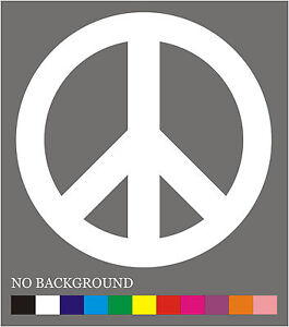 PEACE SIGN Vinyl Decal / Sticker ** 5 Sizes **