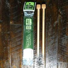 Takumi Clover Knitting Needles Bamboo Single Point Size 13