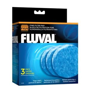 Fluval FX4 FX5 FX6 Max-Clean Max Clean Mechanical Filtration 3 Pack - A248