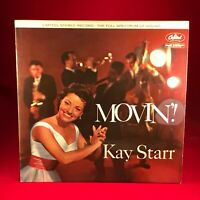 KAY STARR Movin' - 1960 UK STEREO vinyl LP EXCELLENT CONDITION