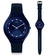 Swatch Skin Big skinsparks Watch svun100 Analogue Silicone Dark Blue