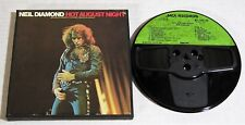 Reel To Reel Tape-Neil Diamond-Hot August Night-1972-7 1/2-CLEAN & TESTED!