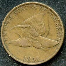1857 (VF) 1C FLYING EAGLE CENT