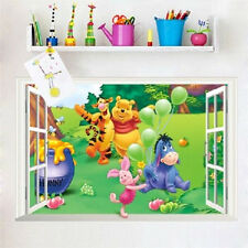 NEW Disney Winnie The Pooh & Friends Window Wall Sticker Baby Nursery Kids Decal