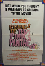 1978 Revenge of Pink Panther 1-Sh Movie Poster-Sellers ( MHPO-101)