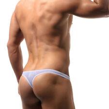 Men'S Low Rise Sexy Cotton Bikini Thong G-String T-Back Underwear Shorts M-2XL